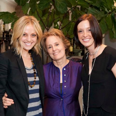 Catie Grimm, Alice Waters, Melissa Grimm